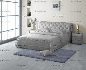 Кровать кожаная 1031 с подъемным механизмом