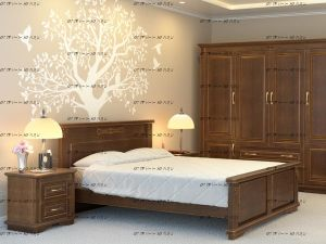 Спальня Палермо №3 Массив DreamLine