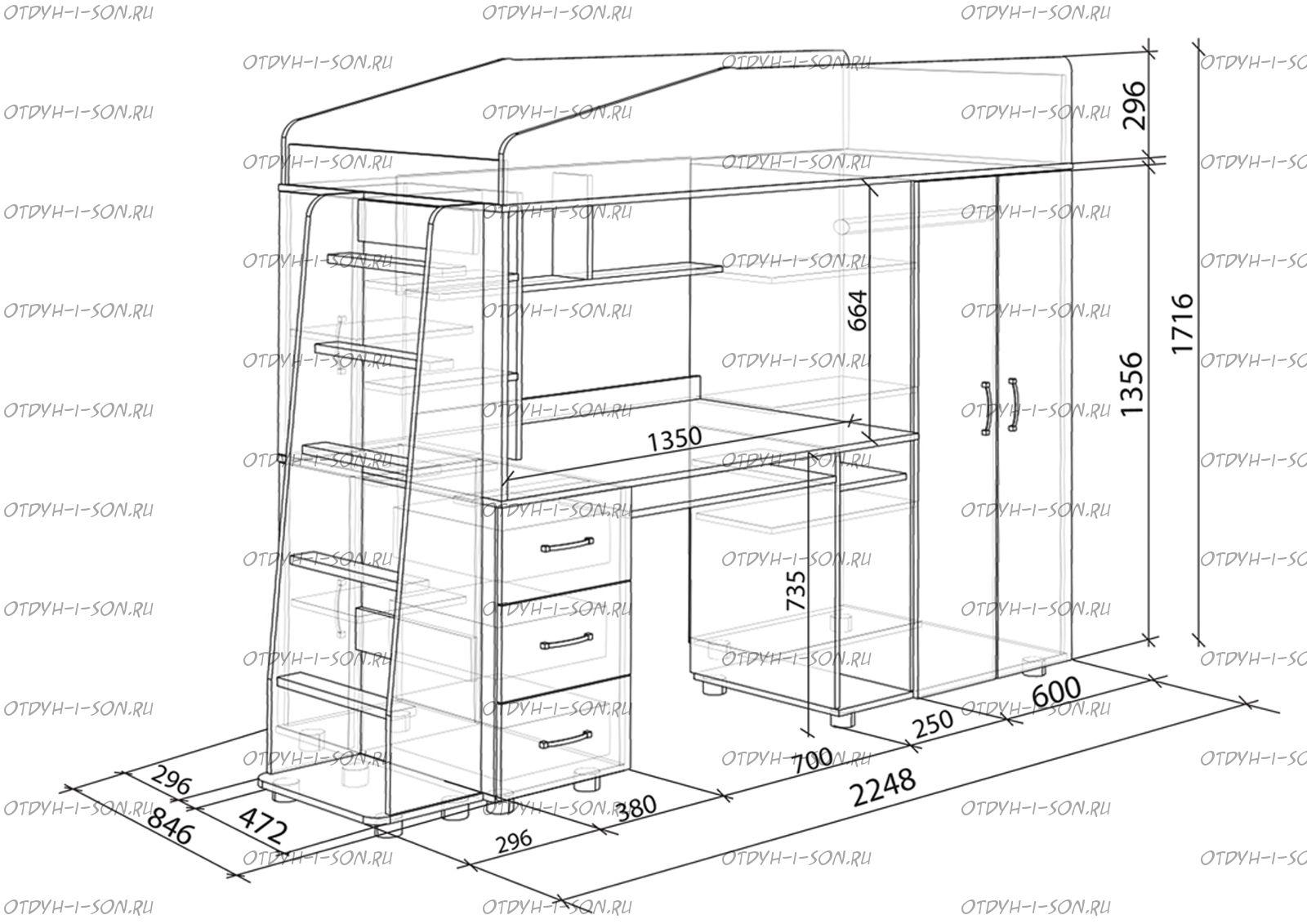 Мебель из дсп своими руками чертежи фото