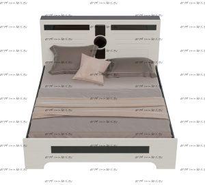 Кровать Престиж СП-06 МДФ (Спальня)