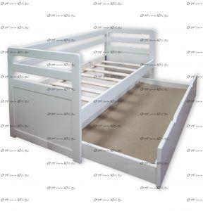 Кровать двухъярусная Дуэт выкатная