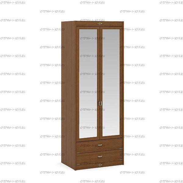 Шкаф 2-х дверный Корвет (52.202.04) 85х58х228