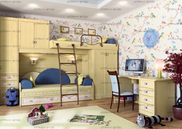 Детская комната Итальянские мотивы №2 МДФ