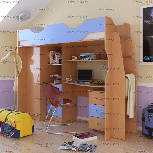 Кровать-чердак Карлсон М4