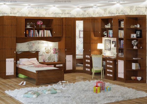 Детская комната Итальянские мотивы №16 МДФ +матрац