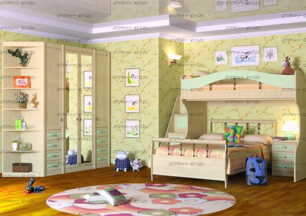 Детская комната Итальянские мотивы №4 МДФ