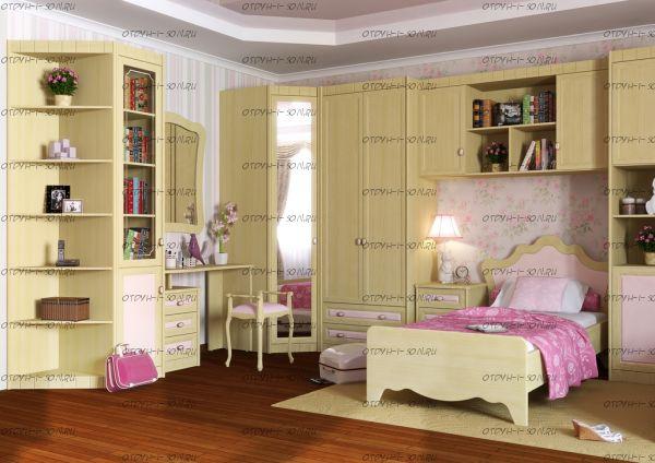 Детская комната Итальянские мотивы №7 МДФ