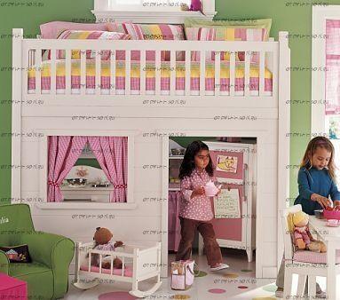 Кровать-чердак Домик №6