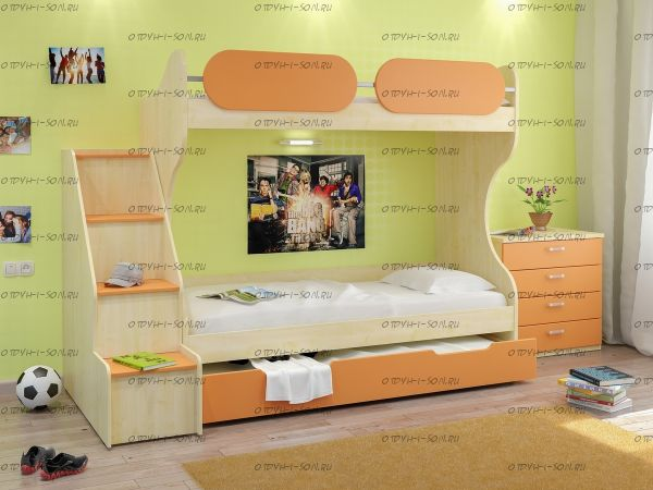 Кровать двухъярусная Teen`s Home