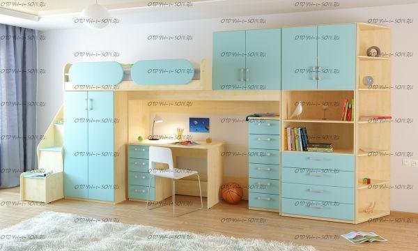 Детская комната Teen`s Home №15