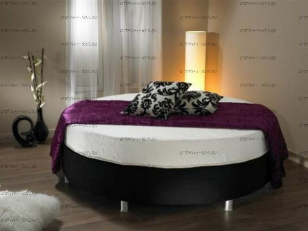 Кровать круглая без спинки Диана 10
