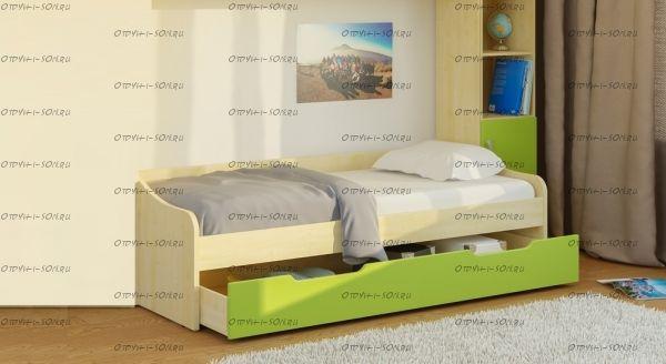 Кровать Teen`s Home (17.101.00) 80х195 и 70х190
