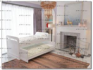 Кровать двухъярусная Мурзилка выкатная