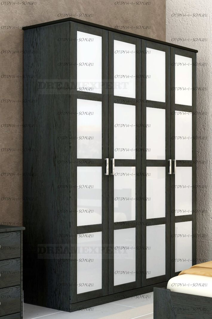 Шкаф 4-х дверный луиджи.
