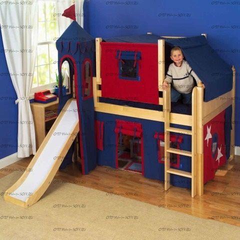 Кровать-чердак Рыцарь-1