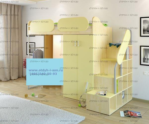 Кровать-чердак Teen`s Home 17.104.00 №1
