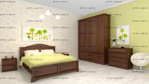 Спальня Эдем №2 Массив DreamLine