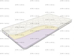Наматрасник ППУ 40+латекс 10 (Дримлайн)