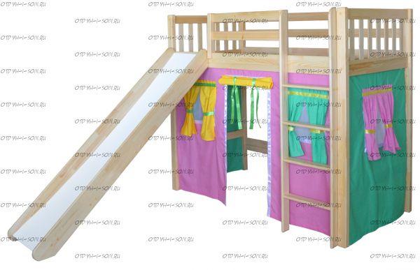 Кровать-чердак Трубадур-2 (Шалаш-2)