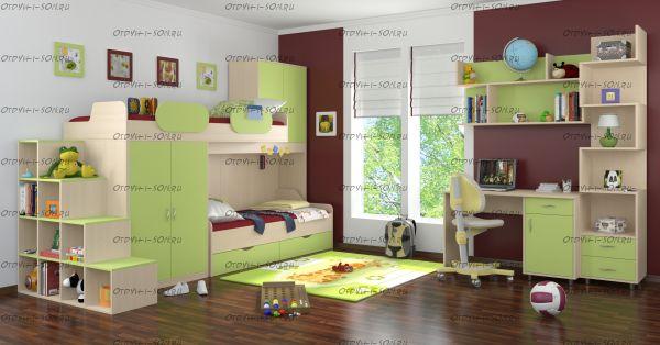 Детская комната Дельта №7