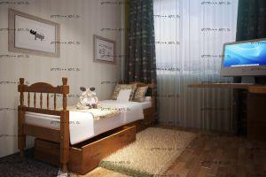 Кровать Юниор Массив DreamLine