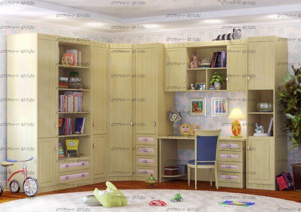 Детская комната Итальянские мотивы №3 МДФ