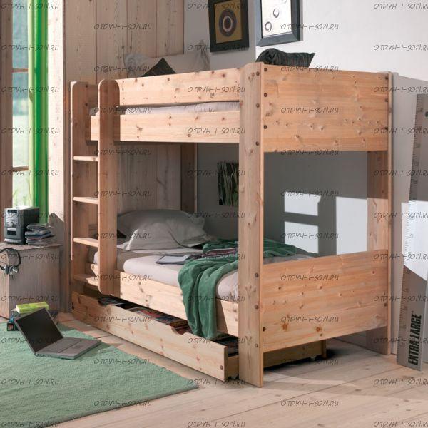 Кровать двухъярусная Лилия-2