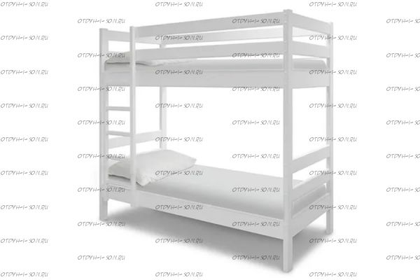 Кровать двухъярусная Кадет-2 с ящиками МДФ