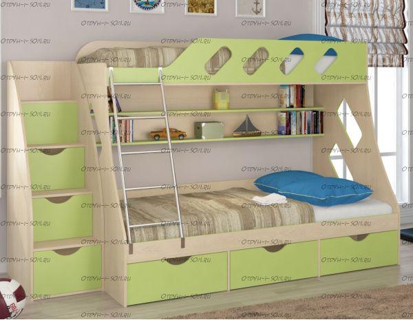 Кровать двухъярусная Дельта 20.01+
