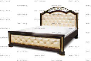 Кровать Амелия с мягкой спинкой