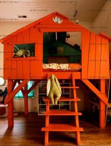 Кровать-чердак Wood №78