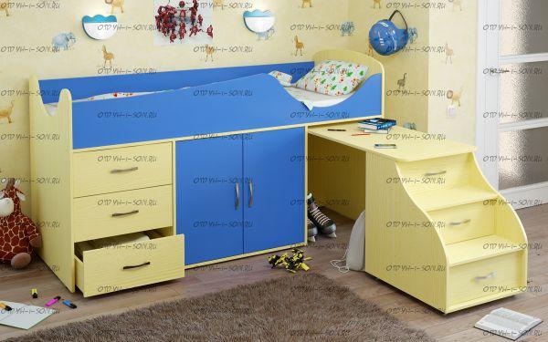 Кровать-чердак Карлсон МИНИ-10 (15.7.010)